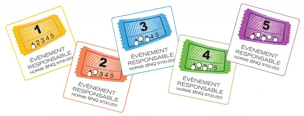 5 etiquettes BNQ9700-253